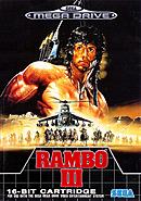 jaquette Megadrive Rambo III