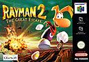 jaquette Nintendo 64 Rayman 2 The Great Escape