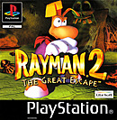 jaquette PlayStation 1 Rayman 2 The Great Escape