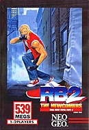 jaquette Neo Geo Real Bout Fatal Fury 2 The Newcomers