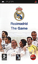 jaquette PSP Real Madrid The Game