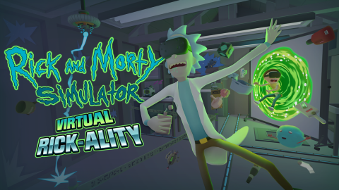 jaquette PC Rick And Morty Simulator Virtual Rick Ality