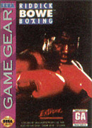 jaquette Game Gear Riddick Bowe Boxing
