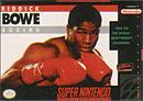 jaquette Super Nintendo Riddick Bowe Boxing