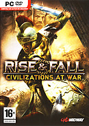 jaquette PC Rise Fall Civilizations At War