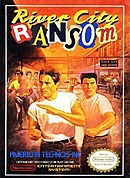 jaquette Nes River City Ransom