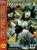jaquette Megadrive RoboCop 3