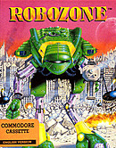 jaquette Commodore 64 Robozone