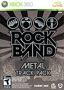 Rock Band : Metal Track Pack
