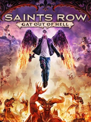 jaquette Xbox 360 Saints Row Gat Out Of Hell