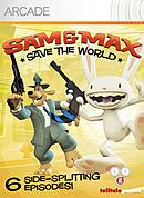 jaquette Xbox 360 Sam Max Sauvent Le Monde