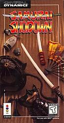 jaquette 3DO Samurai Shodown