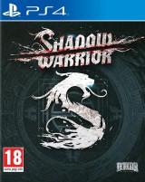 jaquette PlayStation 4 Shadow Warrior