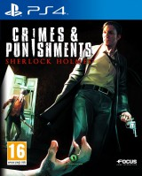 jaquette PlayStation 4 Sherlock Holmes Crimes and Punishments