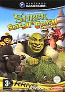 jaquette Gamecube Shrek Smash N Crash Racing