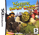 jaquette Nintendo DS Shrek Smash N Crash Racing