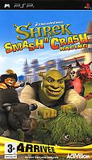jaquette PSP Shrek Smash N Crash Racing