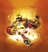 Skylanders Giants Bouncer Character Illustration