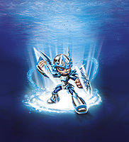 Skylanders Giants Chill Character Illustration