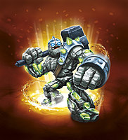 Skylanders Giants Crusher Character Illustration