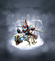 Skylanders Giants Fright Rider Character Illustration