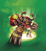 Skylanders Giants Tree Rex Character Illustration