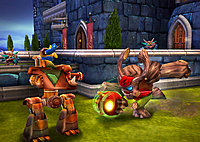 Skylanders Giants Wii Tree Rex in Kaos Kastle