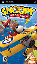jaquette PSP Snoopy Vs The Red Baron