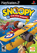 jaquette PlayStation 2 Snoopy Vs The Red Baron