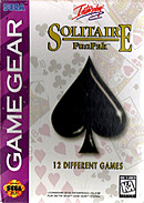 jaquette Game Gear Solitaire Fun Pack