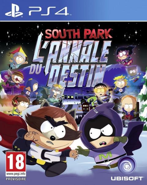 jaquette PlayStation 4 South Park L Annale Du Destin