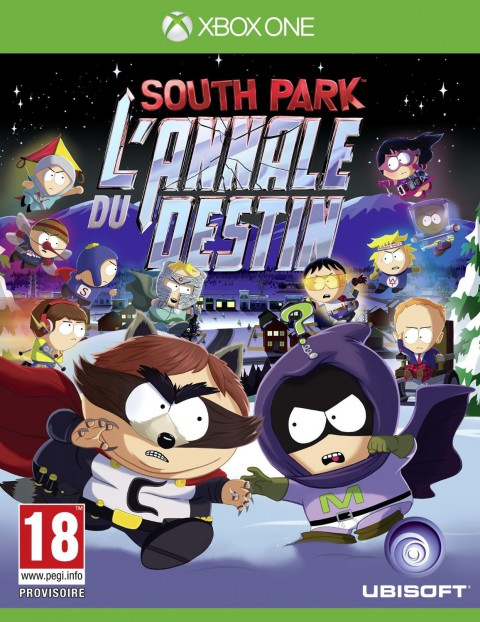 jaquette Xbox One South Park The Fractured But Whole