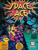 jaquette Atari ST Space Ace