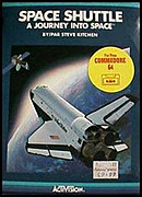 jaquette Commodore 64 Space Shuttle A Journey Into Space