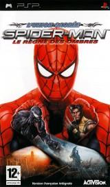 jaquette PSP Spider Man Le Regne Des Ombres