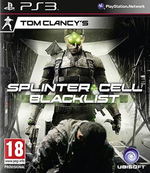 jaquette PlayStation 3 Splinter Cell Blacklist