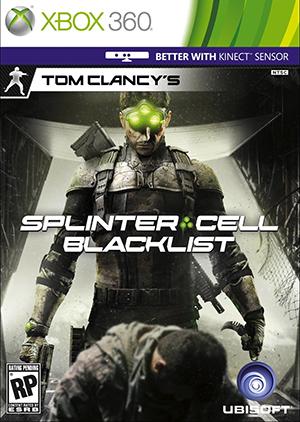 jaquette Xbox 360 Splinter Cell Blacklist