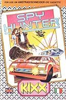 jaquette Amstrad CPC Spy Hunter