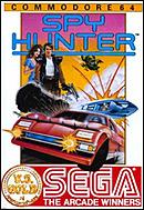 jaquette Commodore 64 Spy Hunter