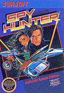 jaquette Nes Spy Hunter