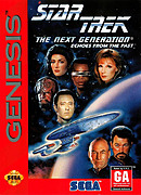 jaquette Megadrive Star Trek The Next Generation Echoes From The Past