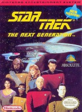 jaquette Nes Star Trek The Next Generation Echoes From The Past