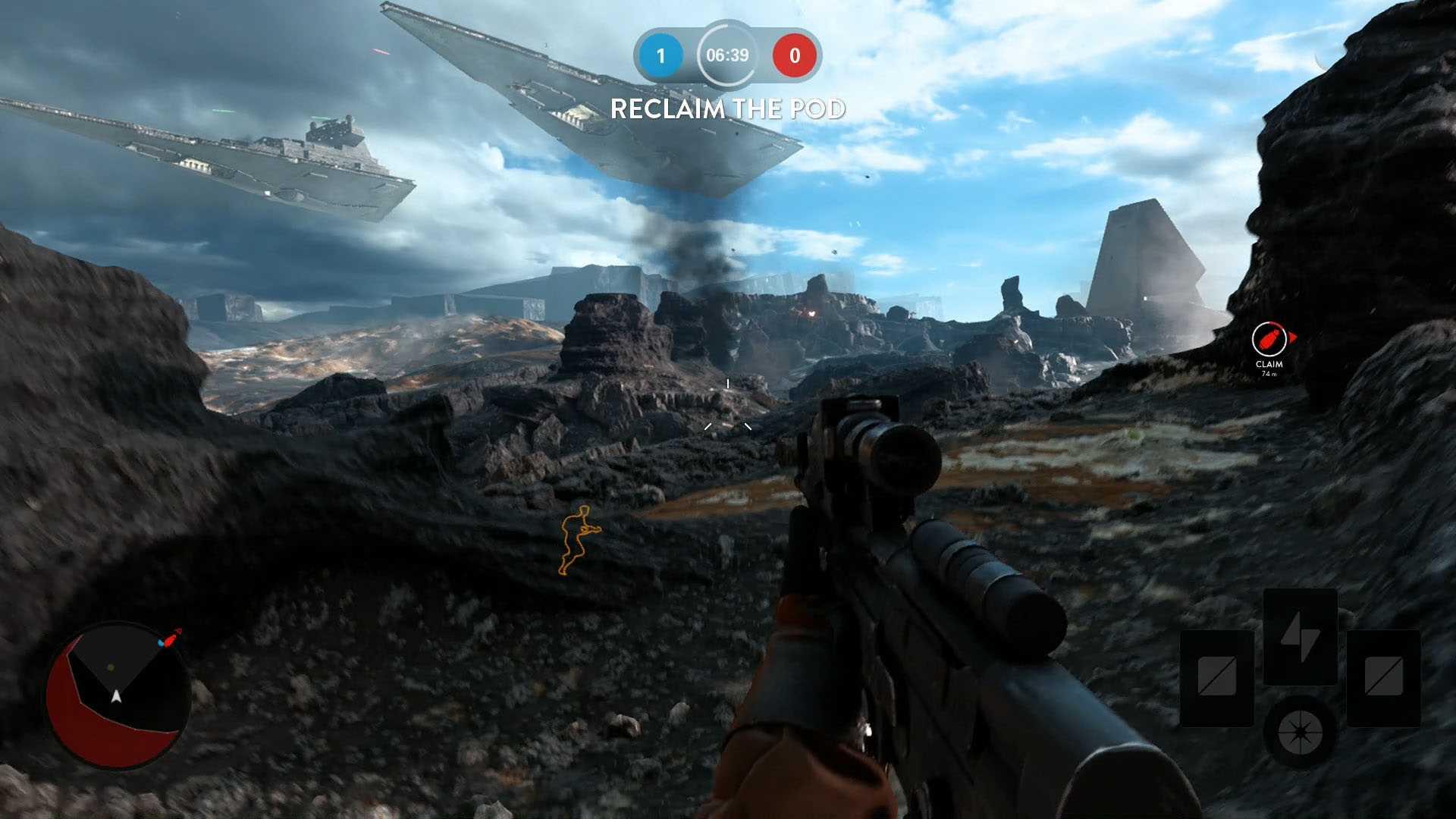 Screenshots capture d 39 ecran pour star wars battlefront for Capture d42cran