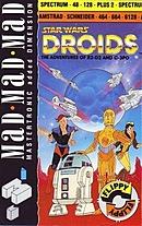 jaquette Commodore 64 Star Wars Droids