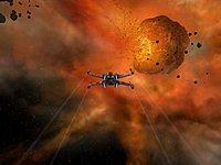 Star Wars Galaxies Jump to lightspeed Xwing 3