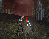 Star Wars Galaxies Rage of the Wookiees grevious 2