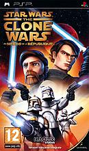 jaquette PSP Star Wars The Clone Wars Les Heros De La Republique