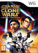 jaquette Wii Star Wars The Clone Wars Les Heros De La Republique