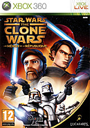 jaquette Xbox 360 Star Wars The Clone Wars Les Heros De La Republique
