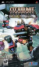 jaquette PSP Steambot Chronicles Battle Tournament